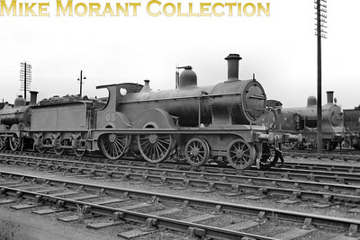 M&GNJR class 'C' 4-4-0 no. 5 was built by Sharp Stewart in August 1894  and acquired the depicted LNER no. 05 in November 1936. Withdrawal came in July 1937. Note that the LNER number has been applied but the tender is still branded with M&GN.