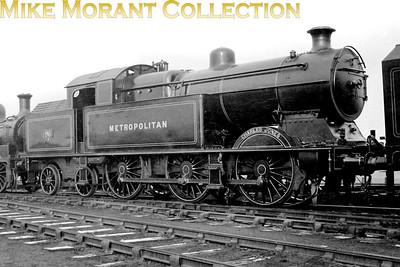 LT railways Metropolitan steam