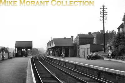 London Transport's former Metropolitan Railway station at Chorley Wood prior to electrification.
