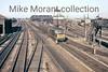 An unidentified Hymeck diesel speeds westwards past Southall mpd on 28/7/63.<br> [<i>Slide taken by Mke Morant</i>]