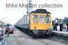 <center><b>Plymouth Railway Circle: The Wessex Wanderer 3/4/88</b><br> BR 108 class DMU P468 at Weymouth Quay.<br> [<i>Mke Morant collection</i>]</center>