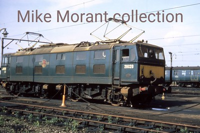 BR, Woodhead route, EM1 class Bo-Bo electric loco no. 26020 at Reddish in 1970. [Mike Morant collection]
