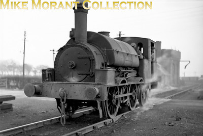This is one of the venerable Beyer-Peacock 0-4-2Ts supplied between 1856 and 1872 to the Cannock Chase and Wolverhampton Railway for shunting at Cannock Chase Collieries.  They were named McClean, Alfred Paget, Chawner, Brown and Anglesey. One to the same design was built in 1946 by the company using parts supplied by Beyer Peacock and was named Foggo. [Mike Morant collection]