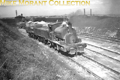 Fulwell Quarries near Sundeland is shown here with 0-4-0ST Fritz holding centre stage. Fritz was a Hudswell Clarke product, 1493/1923, and was withdrawn in 1957. For what it's worth, I'm not sure just how 'original' this medium format negative actually is. I have a slight suspicion that it might have been copied from a print or a picture in a book. [Mike Morant collection]