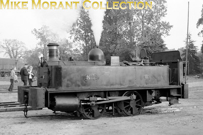 Fleet no. 1 is ex- NTGB (North Thames Gas Board) Neison & Co. 0-4-0T 4444/1892 from the Beckton gas works by-products division in east London. However, this image was taken at the Bressingham Museum in the heritage era. Thanks go to the IRS (Industrial railway Society) Yahoo e-group for the above information.