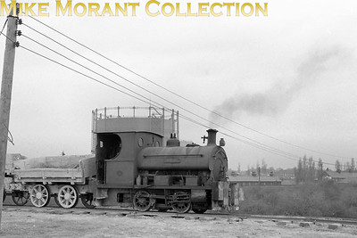 BPCM (Grays) Peckett 0-4-0ST Arab was built in 1899 with works no. 800 and is depicted here on 16/3/57. [Mike Morant collection]