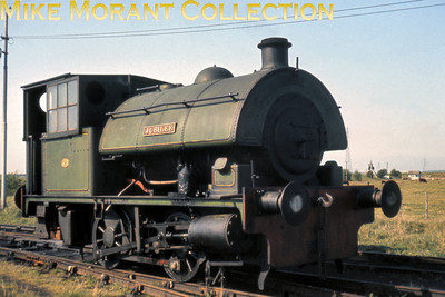 Bowaters Paper Mills: although most enthusiasts are aware of the narrow gauge system because of its survival as the Sittingbourne & Kemsley Light Railway far fewer realise that Bowaters also operated on the standard gauge. Here we see a portrait of the recently withdrawn Bagnall 0-4-0ST works no. 2542 Jubilee which survives to this day photographed on 25/4/68