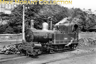 Isle of Man steam railway. Beyer Peacock 2-4-0T no. 6 Peveril. [Mike Morant collection]