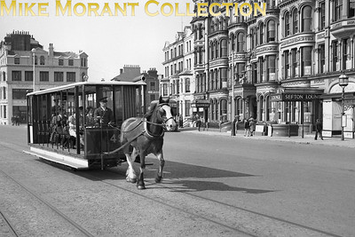 Isle of Man Douglas Corporation Transport horse drawn tram no. 49. [Mike Morant collection]