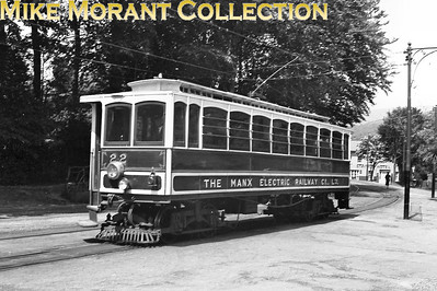 Isle of Man Manz Electric Railway car no. 22. [Mike Morant collection]Isle of Man Manx Electric Railway car no. 22 in its original forms before fire destroyed the coachwork in 1992 necessitating the construction of a new body. [Mike Morant collection]
