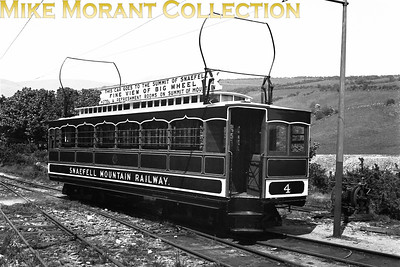Isle of Man Snaefell Mountain railway car no. 4. [Mike Morant collection]