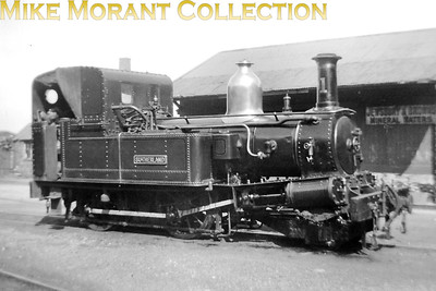 Isle of Man steam railway. Beyer Peacock 2-4-0T no. 1 Sutherland at Ramsey station in 1947. [Mike Morant collection]