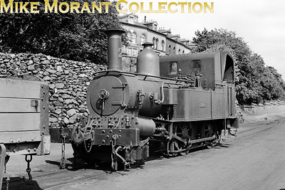 Isle of Man steam railway. Beyer Peacock 2-4-0T no. 2 Derby which was withdrawn in 1951. [Mike Morant collection]