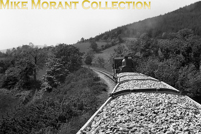 Isle of Man steam railway. One of three shots taken from a ballast wagon back in the late 1930's. [Mike Morant collection]