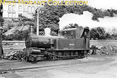 Isle of Man steam railway. Beyer Peacock 2-4-0T no. 11 Maitland. [Mike Morant collection]