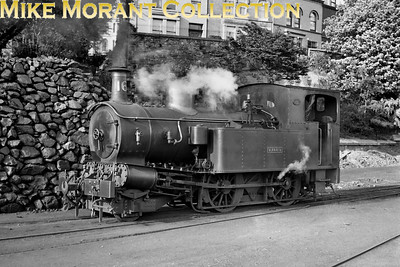 Isle of Man steam railway. Beyer Peacock 2-4-0T no. 16 Mannin. [Mike Morant collection]