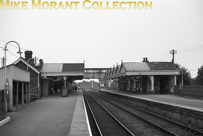 Amersham railway station before electrification and modernisation.