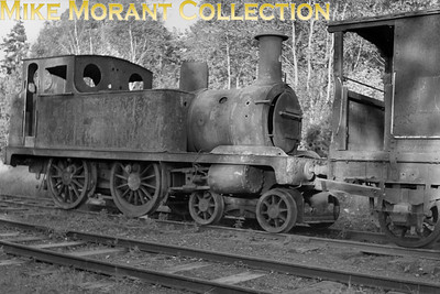 This amazing creature originated with the Lynn and Fakenham Railway back in 1880 and had been built for them by Hudswell Clarke. It was bought by the military in 1917 and was sent to the Woolmer Instructional Facility at Longmoor where it remained until 1953. Withdrawal from active service came in 1930 and Kingsley became a sort of crash test dummy as it was used for rerailing practice thereafter which explains the shocking condition seen here.