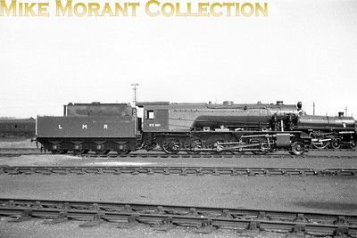Longmoor Military Railway austerity 2-10-0 no. 601 Kitchener on display at the Eastleigh Open day on 15/9/63. [Mike Morant collection]