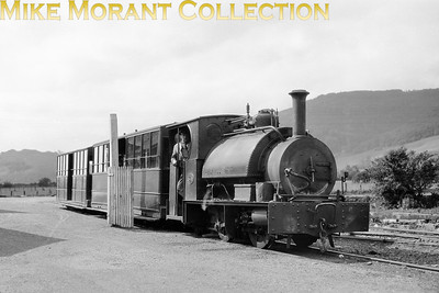 A 1920's shot of Corris Railway 0-4-2ST no. 3 was built by Hughes with works no. 322/1878 and is depicted here in charge of a passenger train at Machynlleth. This loco has miraculously survived into the heritage era as the Talyllyn Railway's Sir Haydn. [E. A. Gurney-Smith / Mike Morant collection]