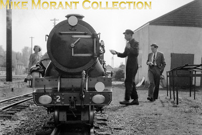 RHDR, Romney Hythe & Dymchurch Railway, pacific no. 2 Northern Chief. This is an undated view but the mode of dress suggests the early fifties [Mike Morant collection]