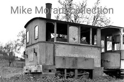 The Wantage Tramway's no. 6, a James Matthews patent tram engine of 1880 vintage, looking forlorn at the very least on May 10th, 1930. Passenger serv ices had ceased on the WTC in 1925 and so it's likely that no. 6 had rested in this position since then. [H. C. Casserley / Mike Morant collection]