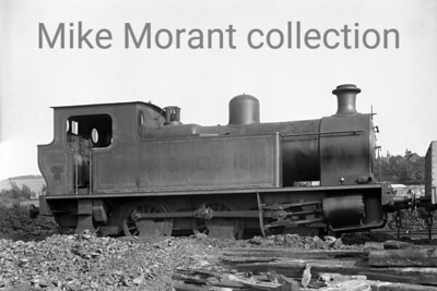 """East Kent Light Railway EKLR  0-6-0T no.4 was built in December 1880 by 1917 by Kerr, Stuart and Company (""""Victory"""" Class, Works No. 3067) for the Inland Waterways & Docks Dept. of the Royal Engineers and was numbered 11 in their stock list. It was sold to the EKLR in 1919 and continued in that railway's service in its previous owner's livery as shown here with I. W. & D. 11 on the tank side. No. 4 proved to be a reliable machine and survived virtually unchanged (except the livery) into BR stock but withdrawal symptoms set in during 1949 and it was scrapped without being adorned with its allocated BR number 30948."""