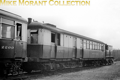 LNER Sentinel railcar no. 2279 Norfolk at what the sleeve note suggests is Starbeck. 2279 was entered service in April 1930 and was withdrawn on 28/10/44.
