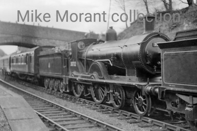 RCTS: The Hampshireman 6/2/55 Drummond T9 class 4-4-0  no. 30732 at West Meon. [Mike Morant collection]