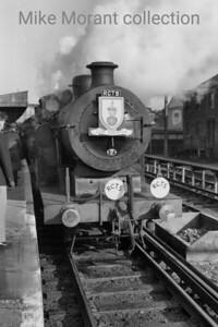 RCTS: The Hampshireman 6/2/55 Billinton E5X class 0-6-2T no. 32576 at Horsham. [Mike Morant collection]