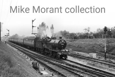 RCTS The East Midlander No.2 Rail Tour 6/5/56 Midland Railway Johnson 2P 4-4-0 No. 40454 at Cheltenham.