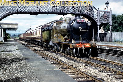 SLS/RCTS: Joint Scottish Tour 17/6/60 The Scottish preserved locos always make for a stirring sight in the days when they were let out of their cages. In brilliant sunshine at Newburgh we see North British Railway D34 4-4-0 Glen Douglas on home territory during the final day of this six day marathon.