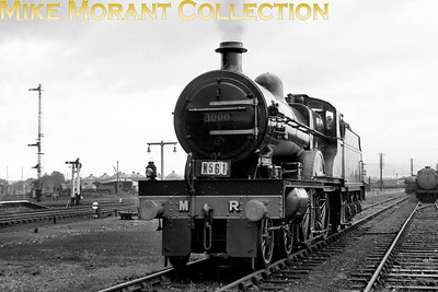 RCTS: The Cumbrian Rail Tour 4/9/60 The preserved Midland Railway Deeley/Johnson compound 4-4-0 no. 1000 at Penrith.