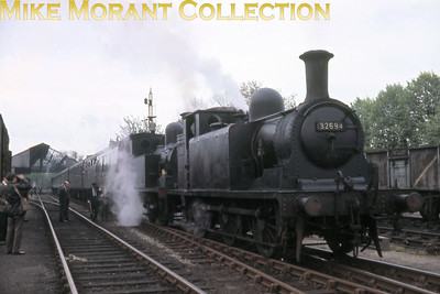 LCGB: Solent Limited 30/4/61 LBSCR Stroudley E1/R class 0-6-2T no. 32694 and LSWR Adams O2 class 0-4-4T no. 30200 at Gosport.