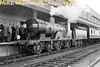 <b>SCTS: The Hampshire Venturer  10/3/63</b><br> The recently preserved LSWR Drummond T9 'Greyhound' 4-4-0 No. 120 alongside Ocean Terminal at Southampton Docks..<br> [<i>Mike Morant collection</i>]