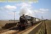 <center><b>LCGB: Lancastrian Railtour 6/4/68</b></center> LMSR Stanier 'Black 5' 4-6-0 no. 45305 at Burscough Bridge.