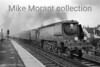 """Bulleid original light pacific no. 34048 <i>Crediton</i> passes southbound through Purley oaks station with what is described as a """"Down Leicester"""" on 27/7/57. 34048 was a Brighton allocated engine at the time.<br> [D. A. Lock / <i>Mike Morant collection</i>]"""