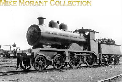 Marsh LBSCR B2X class 4-4-0 No. 206, depicted here in umber livery, was a 1909 rebuild from R. J. Billinton's design of 1897 which radically altered the appearance of the originals. No. 206 was one of the last of the class to be withdrawn in 1933.