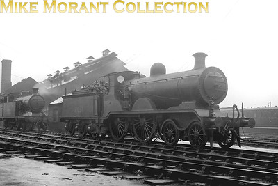 Former LBSCR R. J. Billinton designed B4 class 4-4-0 No. 2051 at New Cross Gate mpd prior in May 1939. 2051 survived into the BR era but didn't see any active service being allocated to Horsham but stored at Bognor shed from March 1947 until withdrawal in February 1949. [Mike Morant collection]