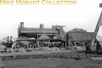LBSCR R. Billinton B4 4-4-0 no. 57 Buller depicted here in Marsh's umber livery. This engine was one that wasn't rebuilt by Marsh into a B4X and also wasn't a long-lived loco being built in 1901 by Sharp, Stewart & Co. and scrapped in August 1936.