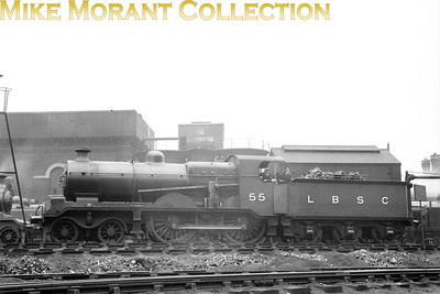 L. B. Billinton B4X 'Greyback' class 4-4-0 No. 55 at  Brighton.
