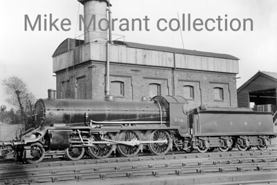 LSWR tender engines