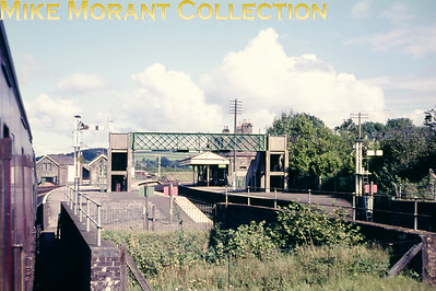 A mid-1960's view of Bere Alston station looking north.
