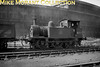Stewarts Lane allocated Wainwright 'P' class 0-6-0 no. 31555 at its home shed on 27/6/53.
