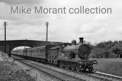 Southern Railway Wainwright F1 class 4-4-0 no. 1151 in charge of a special to Margate at Smarden on 6/6/1938. [J. H. Venn / Mike Morant collection]