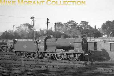 Southern Maunsell 'Q' class 0-6-0 at Bournemouth where it was allocated to from 2/49 until 12/62 although this shot was taken a little earlier circa 1959/60.