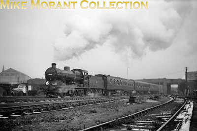 LCGB: The Maunsell Commemorative Rail Tour 3/1/65 Southern Maunsell 'Q' class 0-6-0 no. 30545 departs from the site of the erstwhile Merton Abbey station and has Maunsell mogul no. 31639 bringing up the rear for the short journey to Wimbledon.