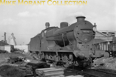 Maunsell 'Q'  class 0-6-0 no. 30546 at Horsham mpd on 19/10/63. This is an interesting shot because of the 75D Horsham shed plate because all the reference points state that 30546 was allocated to Three Bridges when this shot was taken. [Des Summerson / Mike Morant collection]