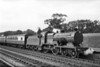 Former Southern Railway Maunsell L1 class 4-4-0 no. 31759 is in charge of a Down Hastings service at enters Crowhurst station in August 1951.