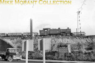 SR Maunsell 'W' class 2-6-4T no. 31914 at Old Oak Common in November 1960. 31914 would become the last survivor of this class being withdrawn in August 1964 whilst allocated to Feltham mpd.